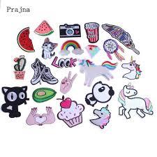 <b>Prajna 1 PCS</b> Avocado Japanese Sushi Patch Cute <b>Cartoon</b> Iron On ...