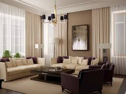 living room curtains ideas lovable design modern purple and cream combined design furniture elegant and modern