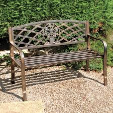 greenhurst coalbrookdale 2 seater bench