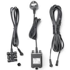 low voltage garden lights 12v transformer 60w for outdoor use