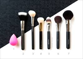 favorite makeup tools for face cheeks and eyes