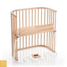 babybay Bedside Sleeper  Light Gloss Beechwood