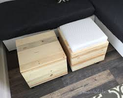 the tops can also be flipped over to reveal a built in cushion the cushions can be used to prop feet up comfortably they can also be used as a lap desk