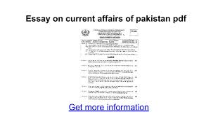 essay on current affairs of pdf google docs