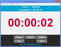 Free Count Up Timer Media Freeware Download
