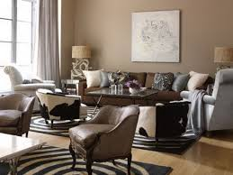 wall paint for brown furniture. Living Room Wonderful With Brown Sofa Black Carpet And Wall Painting Minimalist Design Of Paint For Furniture N