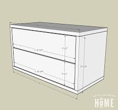 diy floating nightstand with two drawers measurements of diy floating nightstand