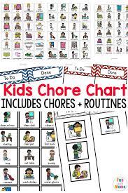 Kids Chore Chart Fun With Mama