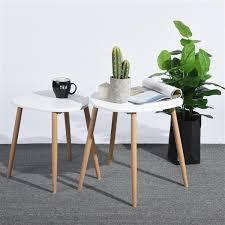 furniturer modern side table wood and