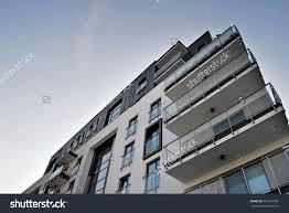 Facade Modern Apartment Building Stock Photo  Shutterstock - Modern apartment building facade