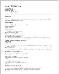Electrical Estimator Resumes Examples Of Electrician Resumes Sample Resume 9 In Word For