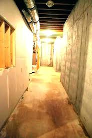 how to paint basement walls ed should you concrete efflorescence