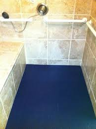 non slip bathroom flooring. SmartCells Drain-through Fall Protection Mats Can Protect Loved Ones From Experiencing A Fall- Non Slip Bathroom Flooring