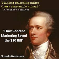 Alexander Hamilton Quotes Beauteous Alexanderhamiltonquote48 RecessionSolution Marketing