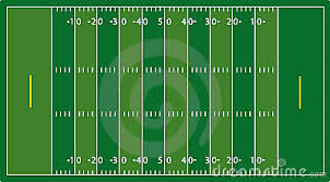 nfl football field eps royalty free stock image   image
