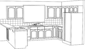 simple kitchen drawing. Use Our Ultimate Small Simple Kitchen Drawing 1 On Other Design R