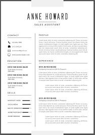Free Modern Resume Template Australia Universal Network