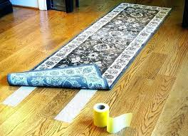 how to keep rugs from slipping on carpet rug tape for coffee tables o