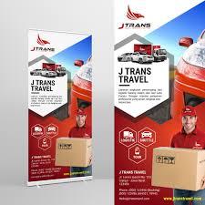 Desain Banner Design Brief Desain Banner Untuk J Trans Sribu