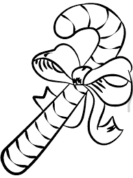 Small Picture Big Candy Cane Coloring Page Download Print Online Coloring