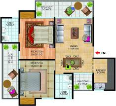150 Sq Ft 1050 Sq Ft 2 Bhk 2t Apartment For Sale In The Antriksh Group Golf