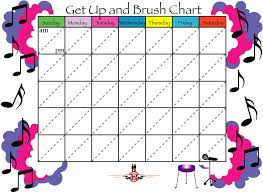 Free Printable Tooth Brushing Chart Tooth Brushing Charts Pediatric Dentistry Website Links