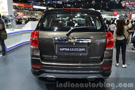 2014 Chevrolet Captiva Sport Edition rear at the 2014 Thailand ...