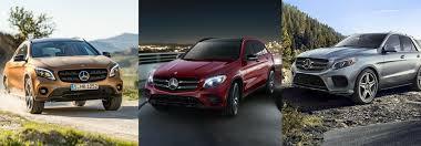 Ils sont à la fois fonctionnels et confortables. What Is The Difference Between The Mercedes Benz Suv Models Mercedes Benz Of Gilbert