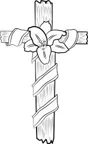 Coloring Pages Crosses Free Printable Cross For Coloring Pages