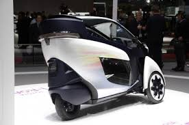 new car launches pakistanLatest 20152016 Toyota iroad Three Wheeled Electric Car Price