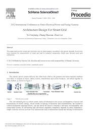 Design Of Smart Power Grid Renewable Energy Systems Pdf Download Pdf Architecture Design For Smart Grid