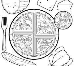Small Picture Myplate Coloring Page Kids Coloring europe travel guidescom