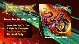 The Grand Design Khymera The Grand Design Album Sampler Official New Studio Album Feat Dennis Ward