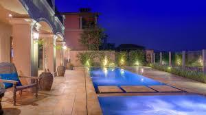 mediterranean outdoor lighting. Hampton Bay Outdoor Lighting - Enchanting Mediterranean Pool Dec R