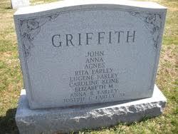 Agnes Griffith - Find A Grave Memorial