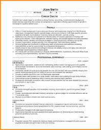 Profile Or Objective On Resume Transform It Statement For Career