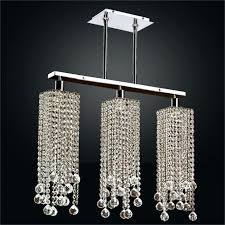 chandeliers rectangular glass chandelier inch drop crystal small large size of home depot clarissa dro