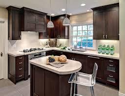 Image Dark Wood 20160403darkcabinetskitchensp1 Marble Buzz 42 Stunning Kitchens With Dark Cabinets Marble Buzz