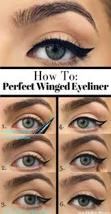 how to do winged eyeliner your eyeliner will be so even and sharp you could fly away on those wings