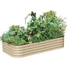 6 in 1 raised garden beds birs