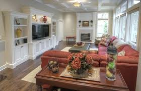 custom wall units for family room built in vented door design living rooms with entertainment centers