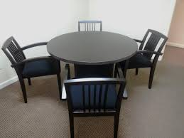 small round meeting table and chairsround office tables