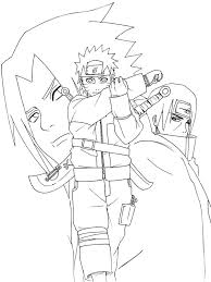 Small Picture Free Printable Naruto Coloring Pages For Kids Coloring Home