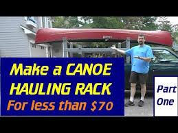 Make A Canoe / Lumber / Ladder Rack - Part#1 - YouTube