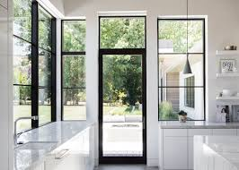 large expanses of glass