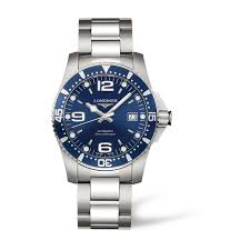 buy a longines watch online fraser hart longines sport hydroconquest mens automatic blue dial stainless steel watch