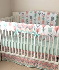 pink and green crib bedding dressers attractive mint green baby bedding arrow crib graceful mint green