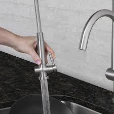 Pull Down Spray Kitchen Faucet Vigo Dresden Pull Down Spray Kitchen Faucet Reviews Wayfair