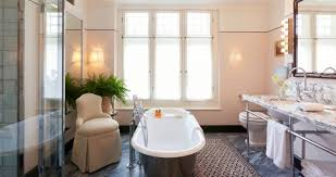 luxury hotel in london with huge bathroom