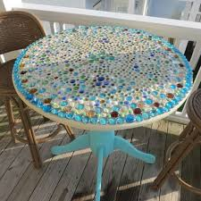 design for mosaic patio table ideas ivchic home with regard to diy tables idea 6